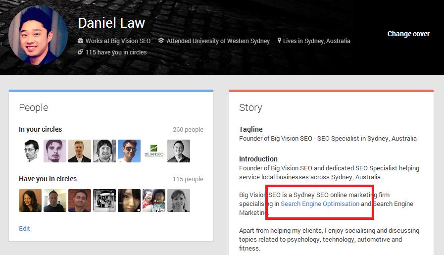 Google+ Story Link