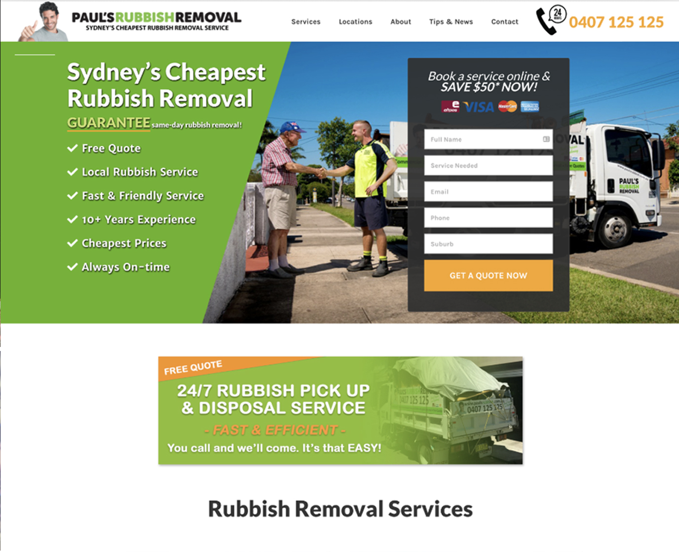 Paul's Rubbish Removal Sydney