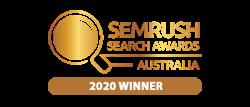 Semrush Search Awards 2020 Winner